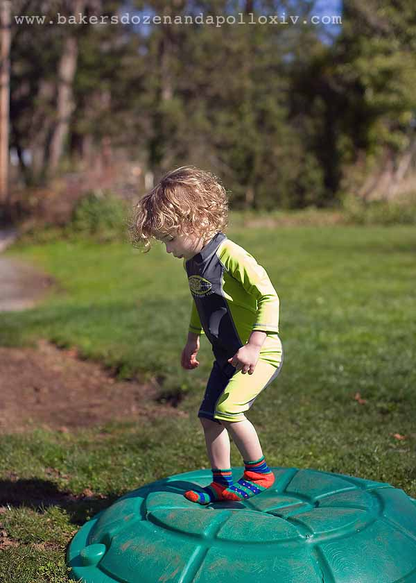 REI toddler, REI boardsuit, toddler boardsuit
