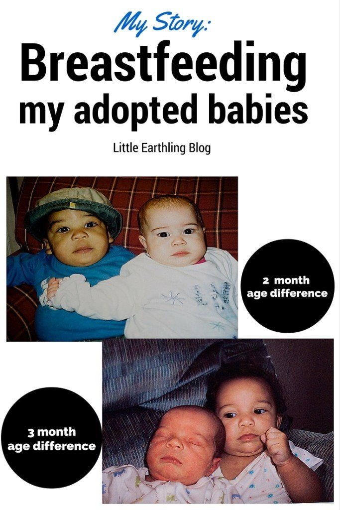 My story of breastfeeding my adopted babies.