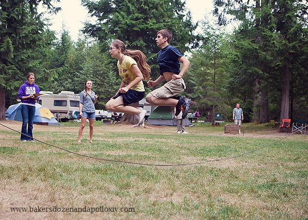 large family, large family blog, large family camping, pacific northwest camping, church campout