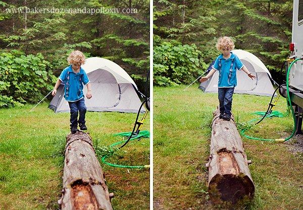 curly hair toddler, curly haired toddler, toddler curly hair, curly haired boy, large family, large family blog, camping large family, camping pacific northwest