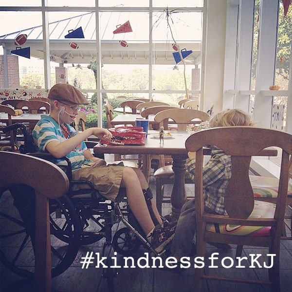 #kindnessforKJ