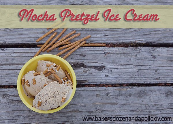 mocha pretzel ice cream recipe