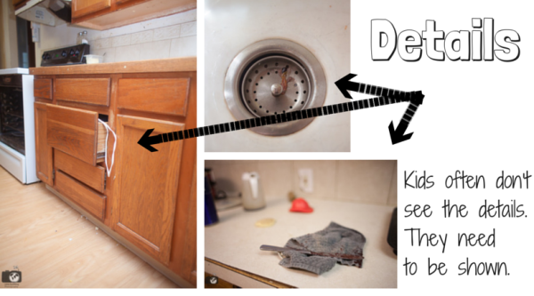 How to teach your kids to clean the kitchen with a free printable!