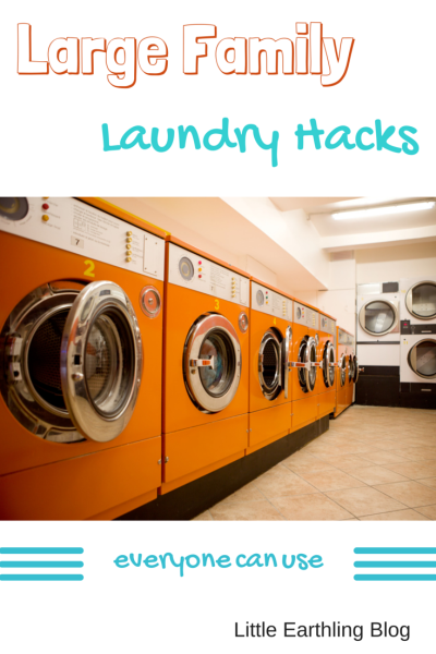 Large Family Laundry Hacks that work for everyone!