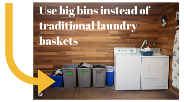 Use big bins instead of traditional