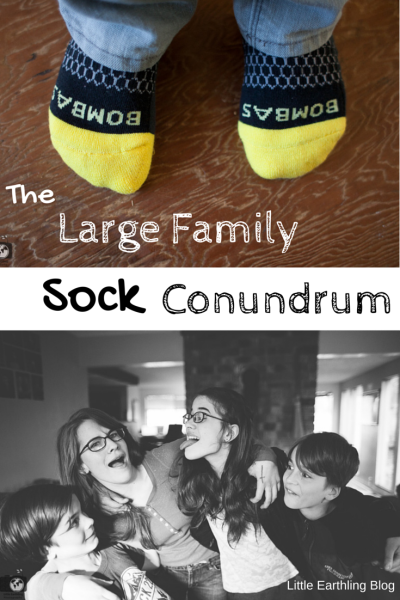 managing socks in a large family