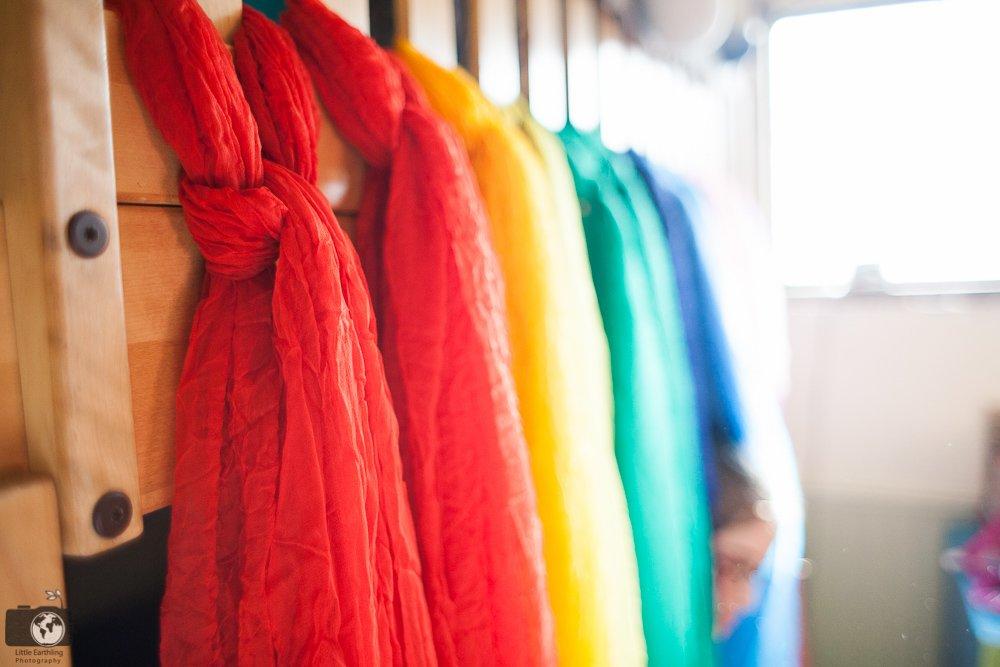 diy-rainbow-bed-canopy-0636 & DIY Rainbow Bed Canopy for Bunk Beds