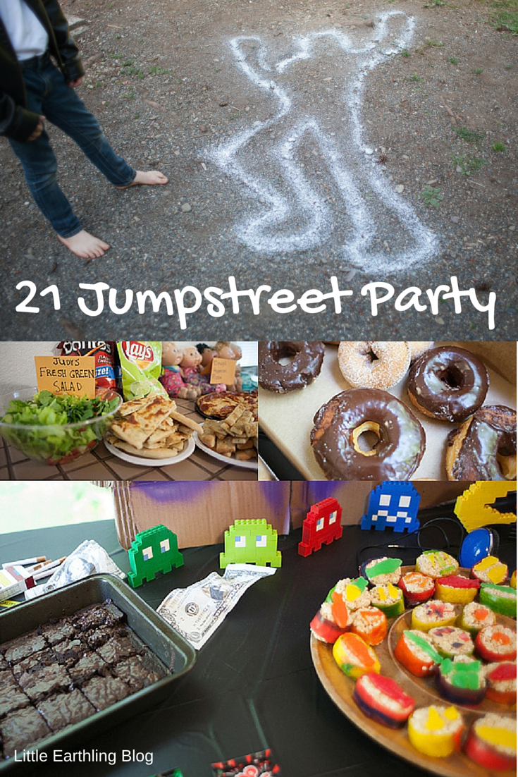 21 Jumpstreet Party Ideas