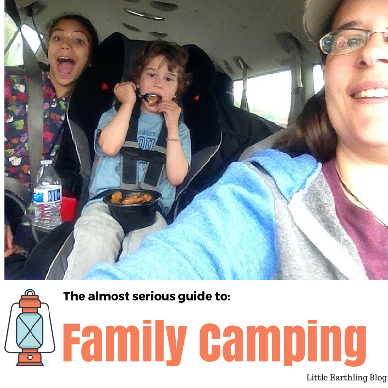The almost serious guide to family camping