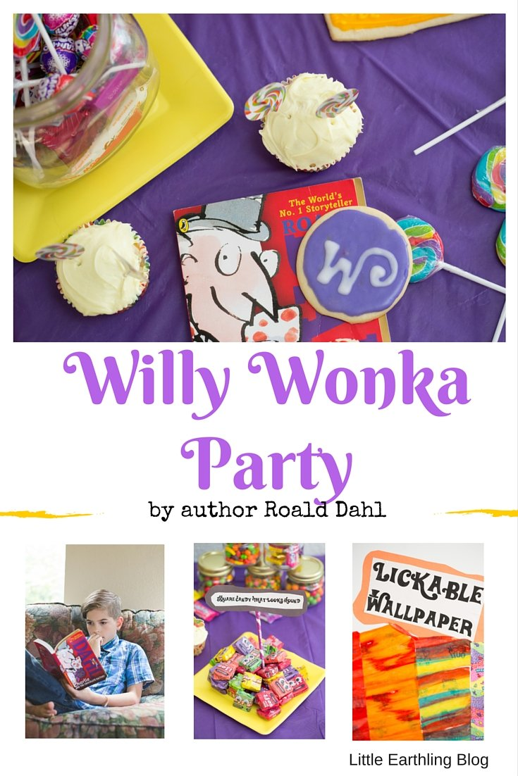 How to throw a fun Willy Wonka Party to celebrate the birthday of author, Roald Dahl