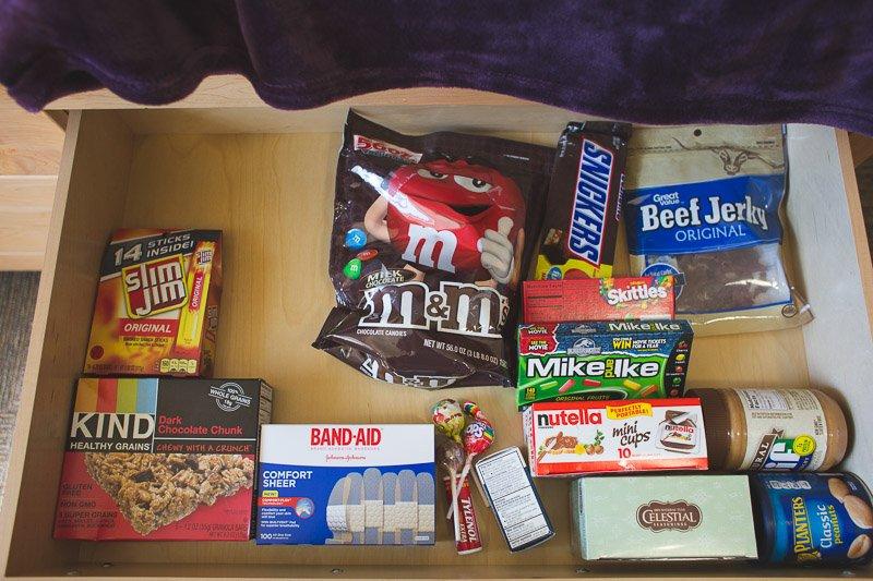 snacks for university dorm life
