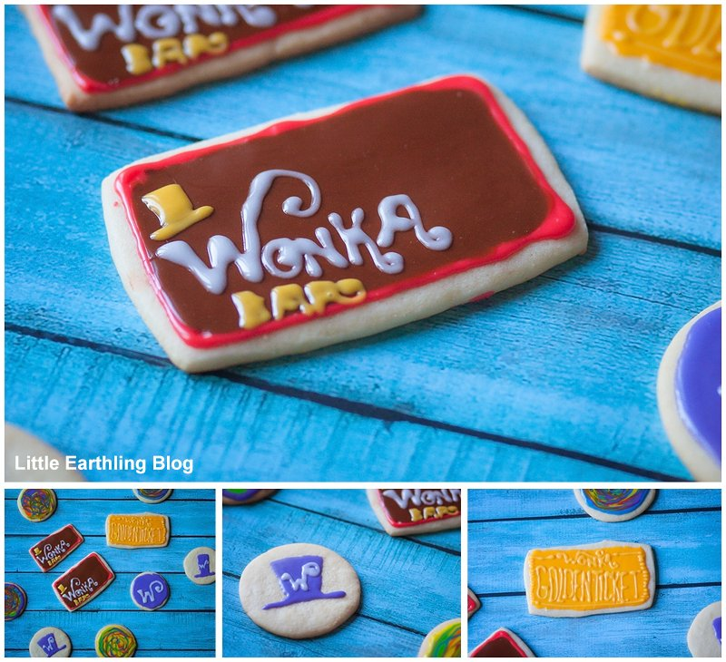 Willy Wonka Cookies for Willy Wonka Party