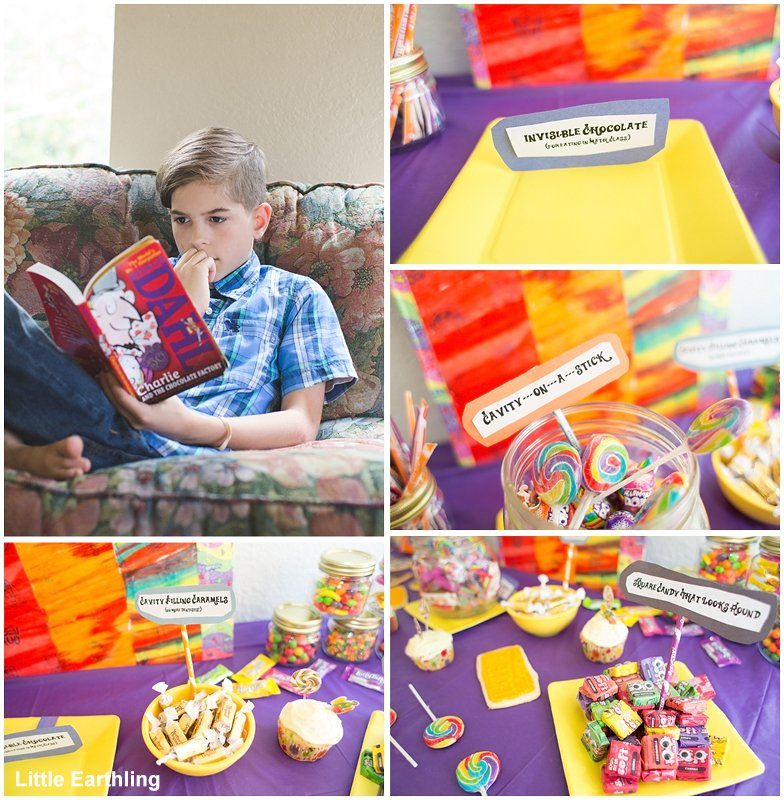 Ideas for throwing a Willy Wonka Party