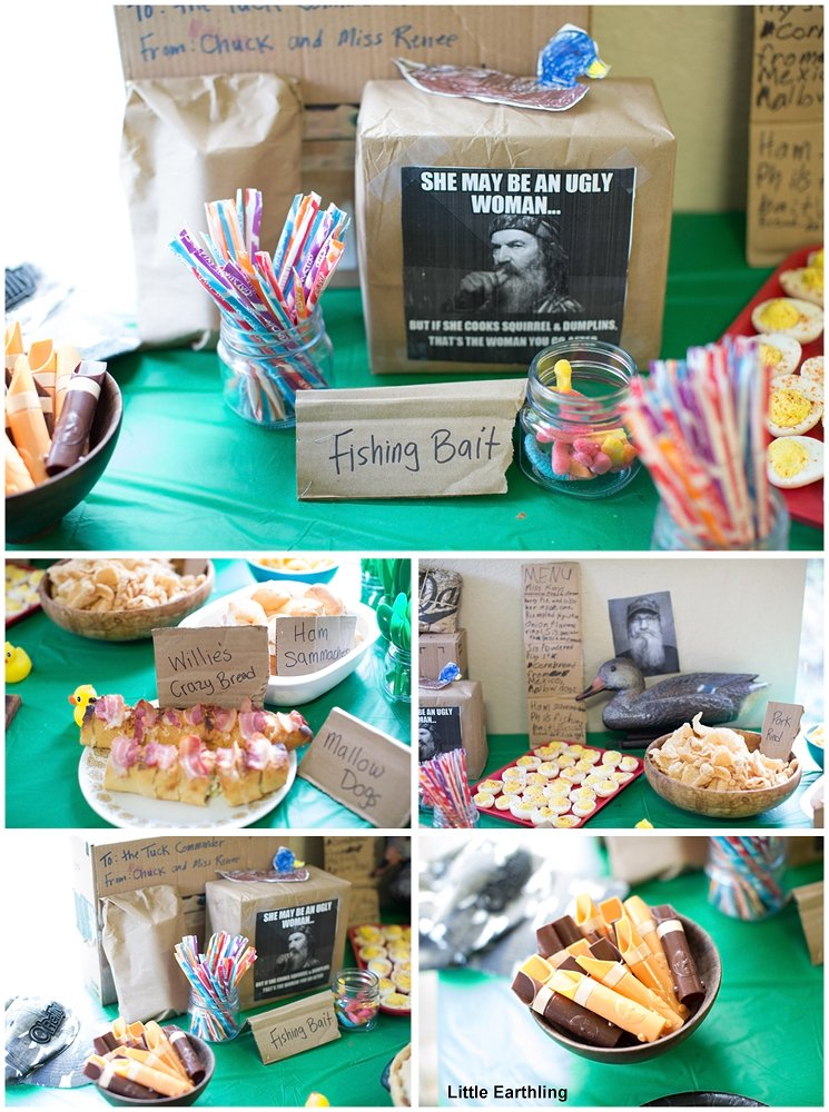 Duck Dynasty Party Food