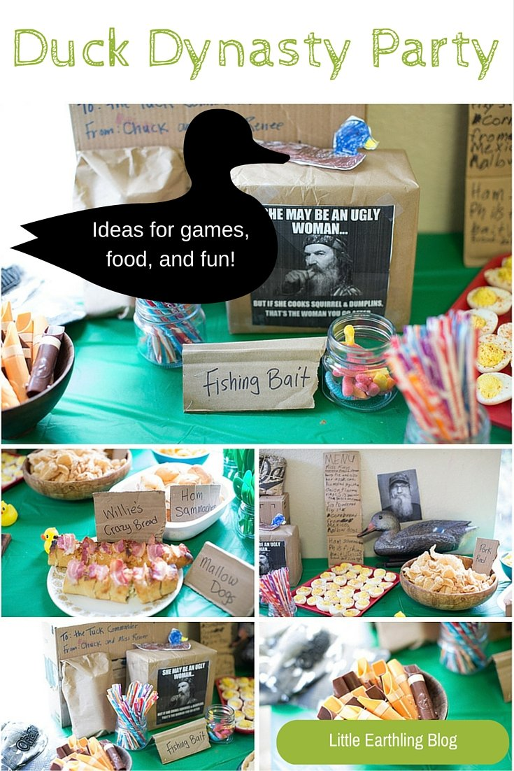 Great ideas for a Duck Dynasty Party