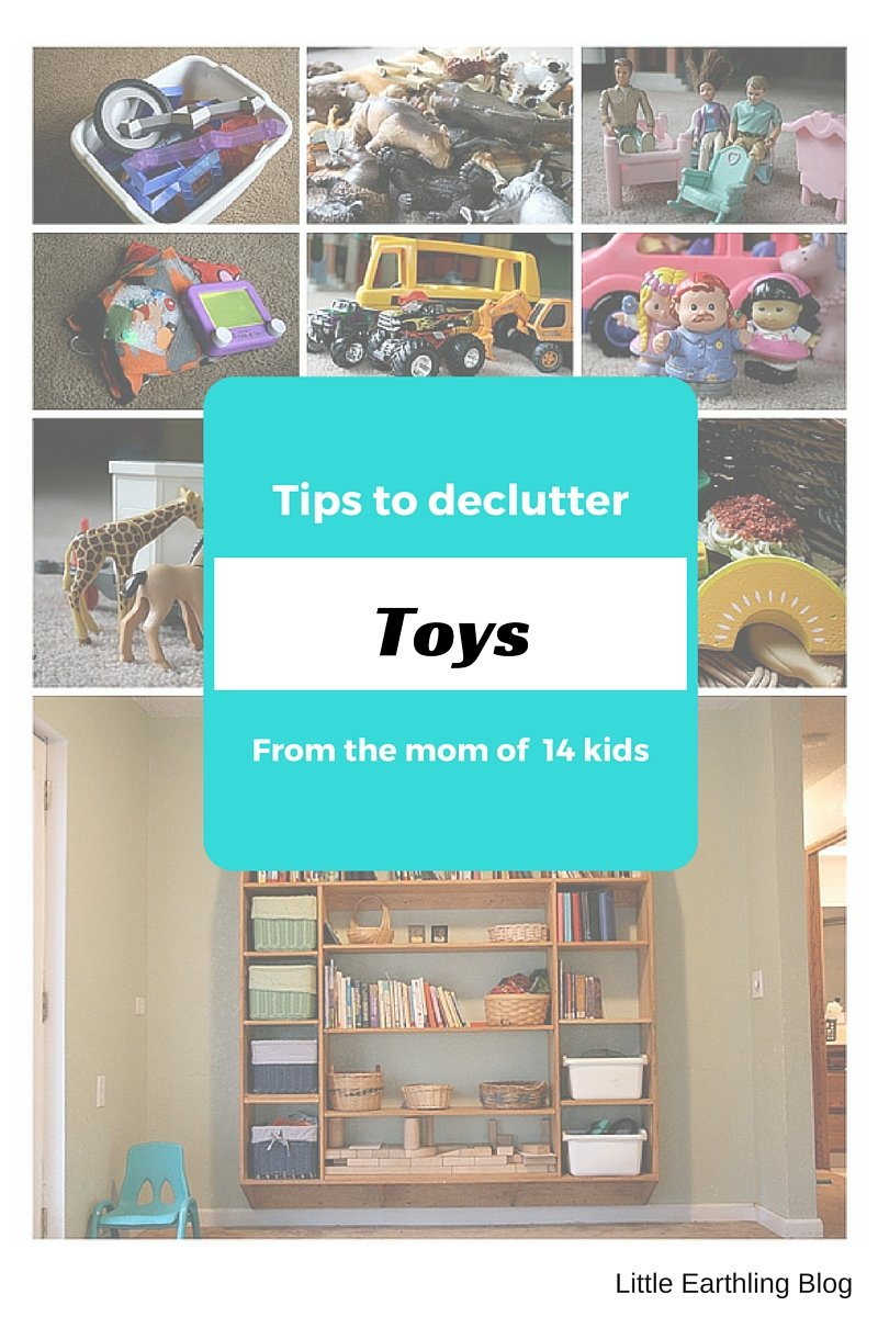 Tips to declutter toys from the mom of a large family