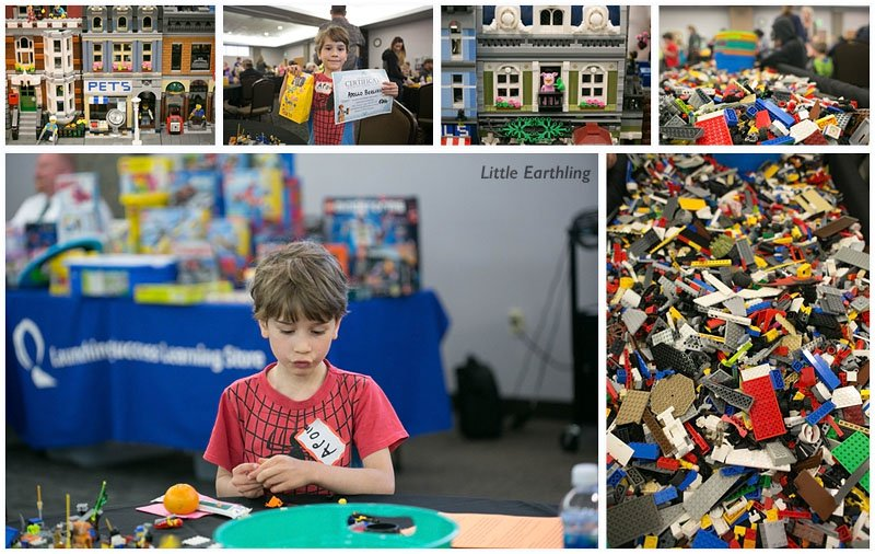 Five of our boys participated in the 2016 LEGO Build-Off.