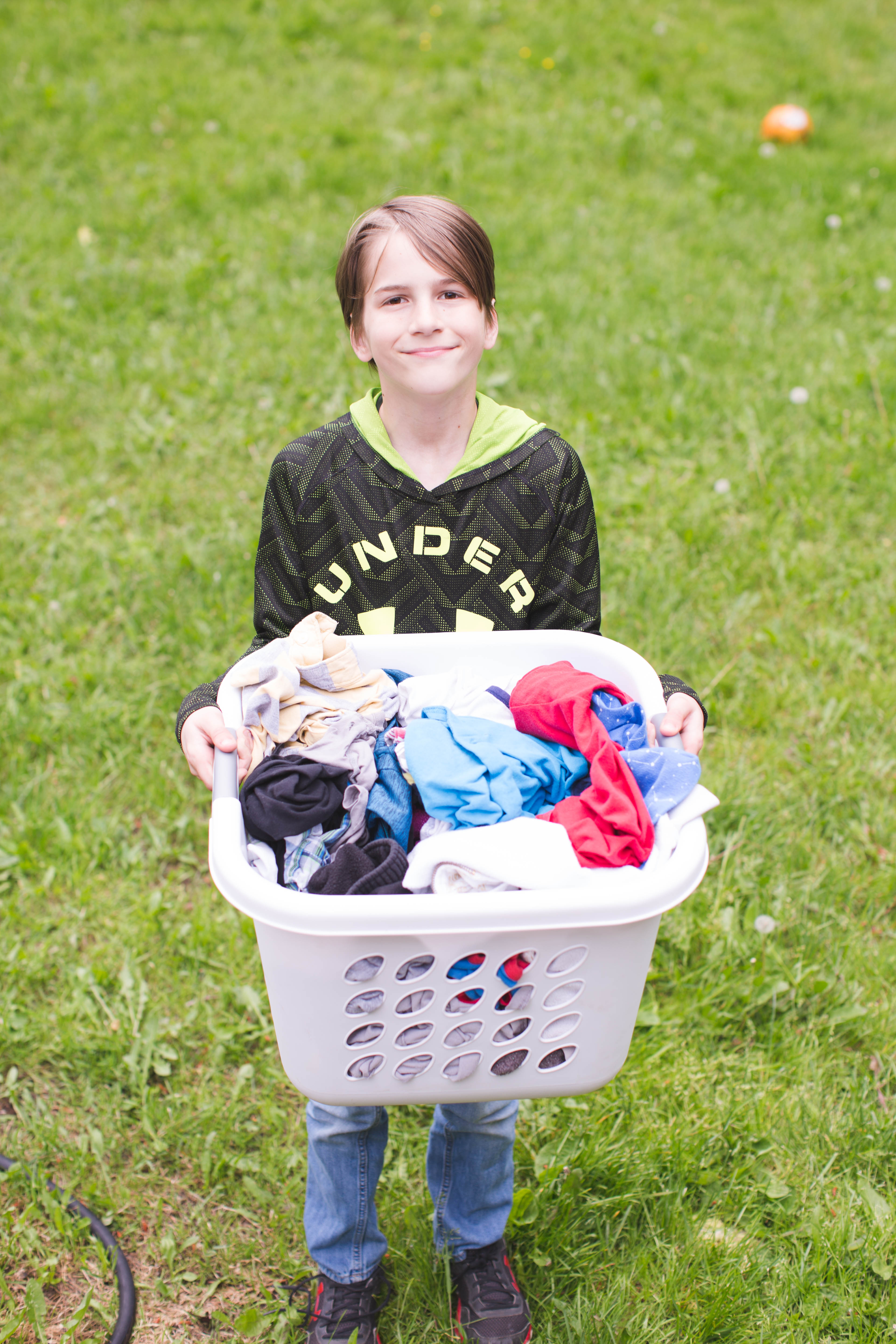 Large family laundry routine keep your sanity for Large family laundry