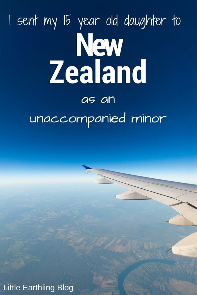 I sent my 15 year old daughter to New Zealand as an unaccompanied minor.