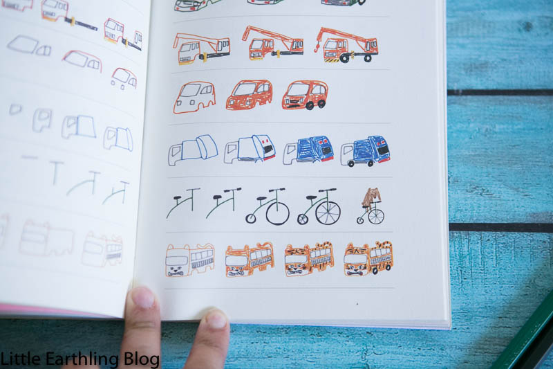 How to Draw Almost Everything is a 224 page book full of simple cartoonish drawings that will delight your child.
