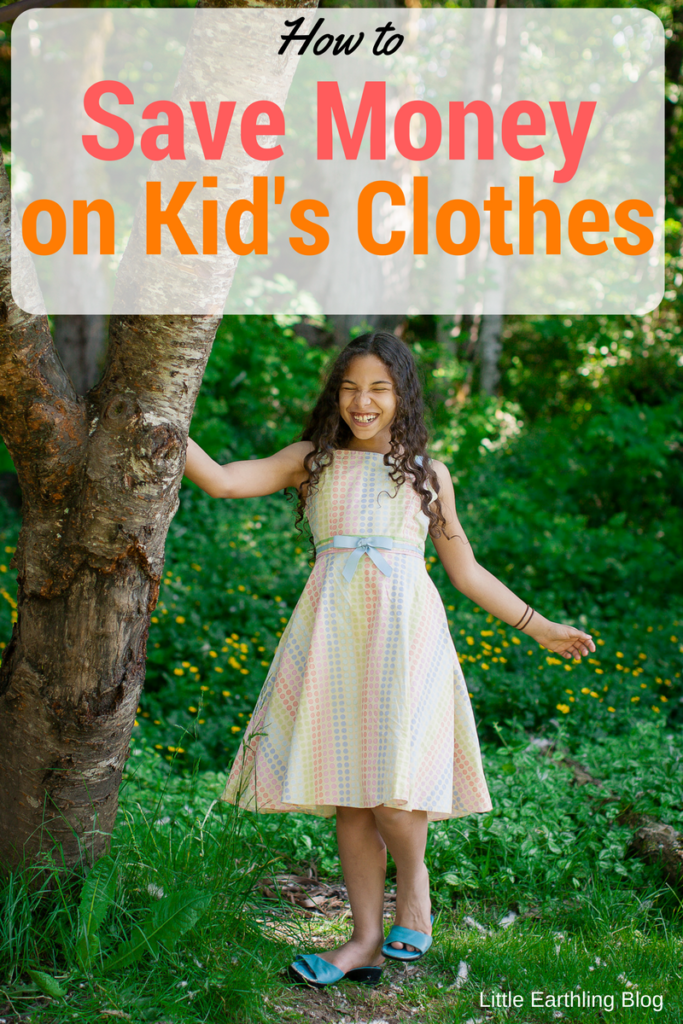How to save money on kids' clothes. Hot tips from the mom to 14 kids.