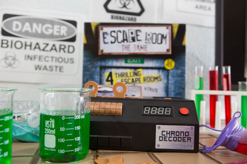 Host an amazing Escape Room Game night for your teens and their friends.