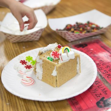 I Survived First Grade Gingerbread House Day