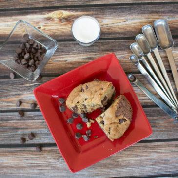 Layered Chocolate Chip Cookie Brownies