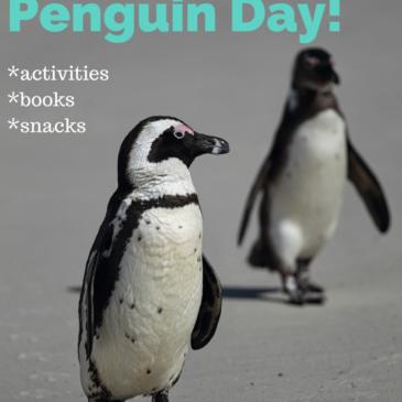World Penguin Day {April 25th}