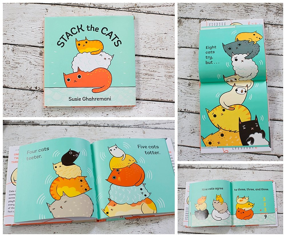 Stack the Cats is a clever witting book that teaches basic math concepts.