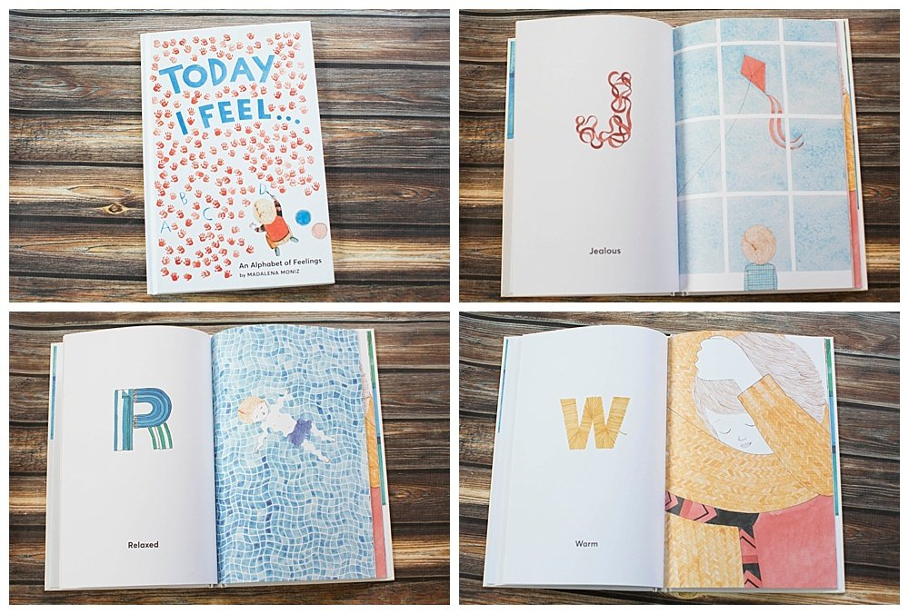 Today I Feel is a fun alphabet book that explores feelings.