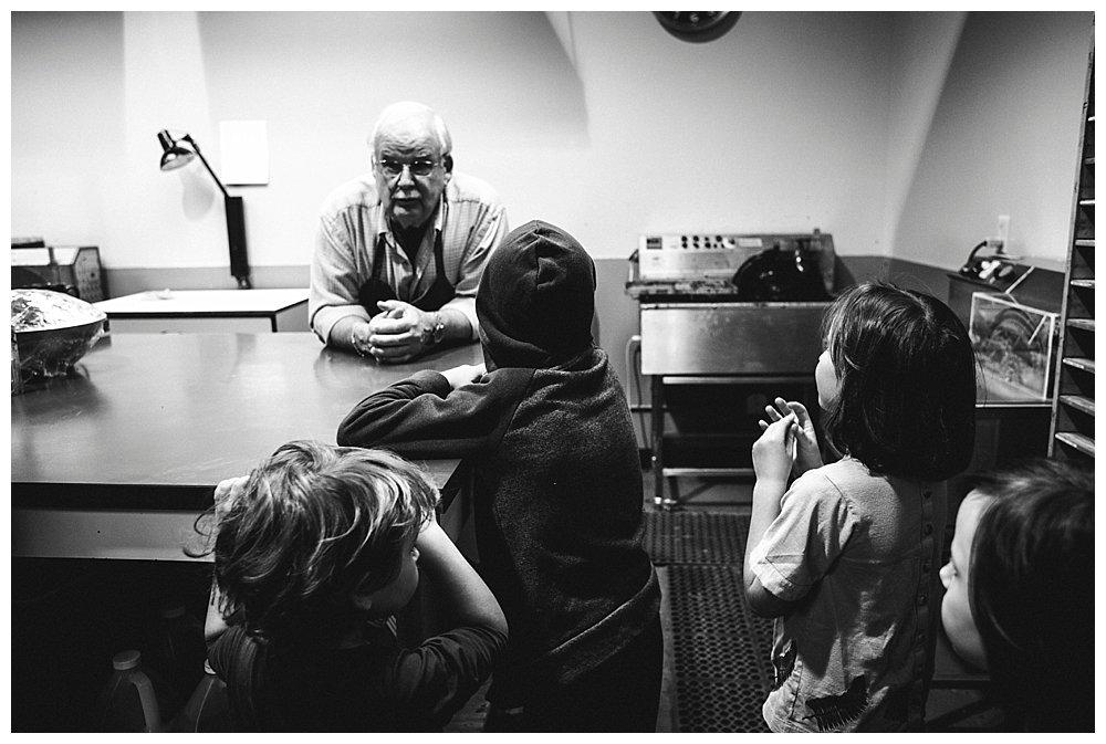 We toured Chocolate Necessities as last week's homeschool adventure.