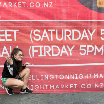 Wellington Night Markets {2017 New Zealand Adventure}