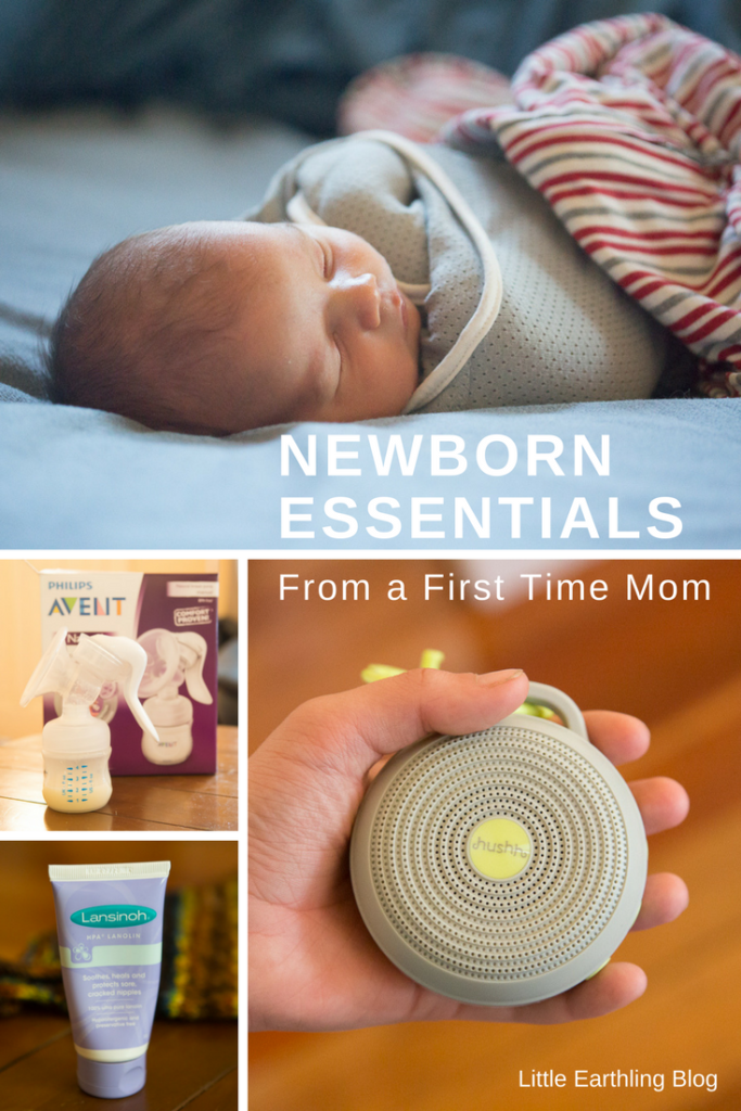 Newborn essentials from a first time mom. The absolute must-have items.