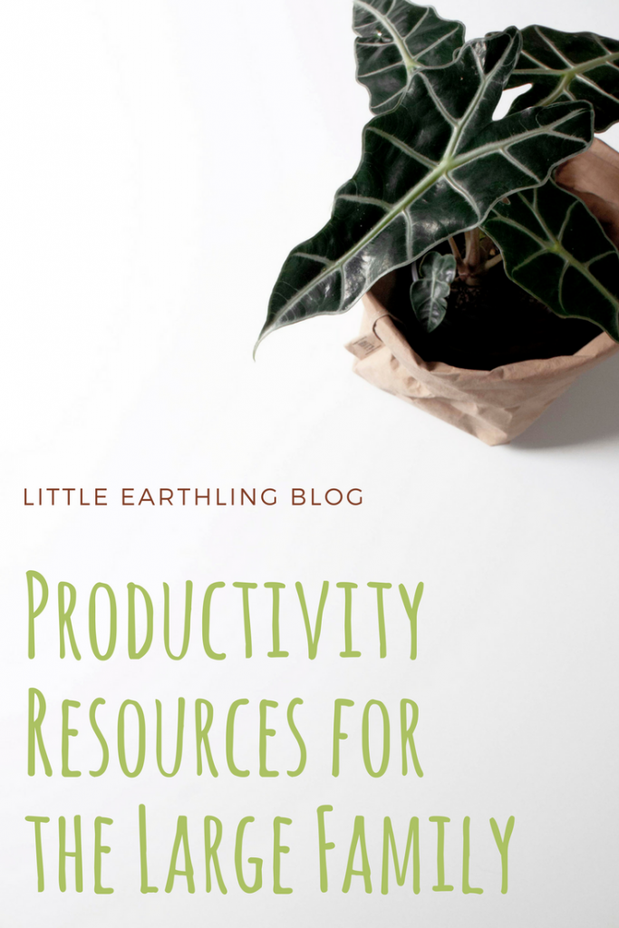 The best productivity resources for the large family.