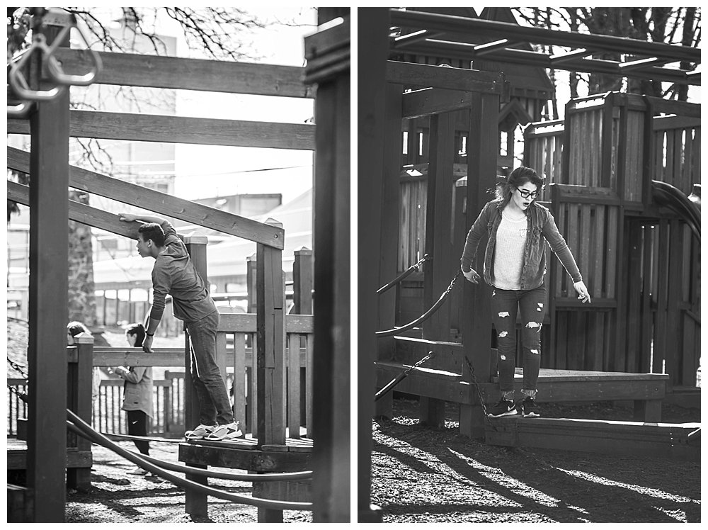 Sunday afternoon adventure at Lynden City Park.