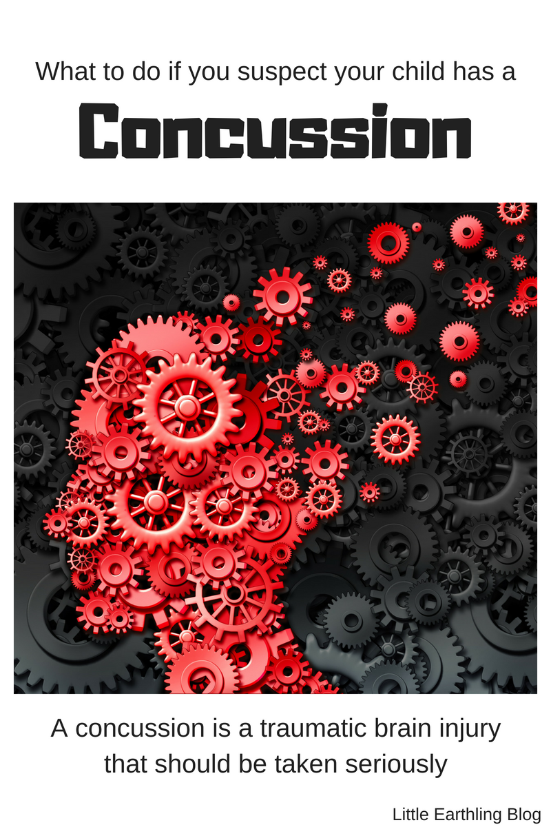 What to do if you suspect your child has a concussion.