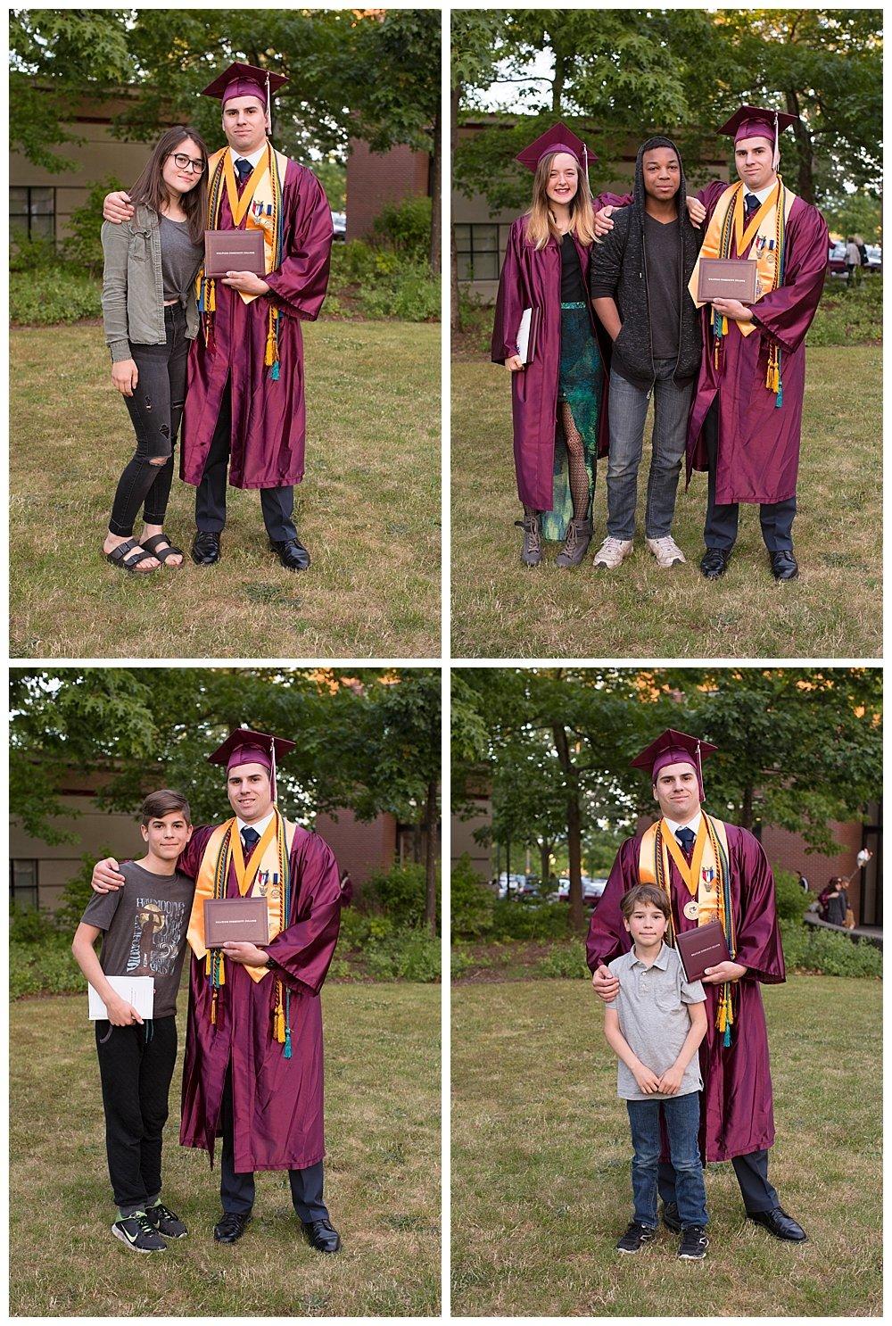 Enoch Whatcom graduation.