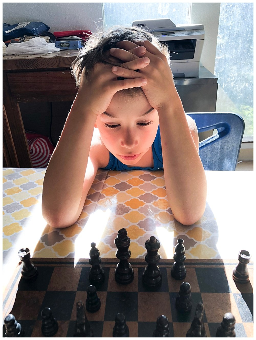 Life is hard. So is chess. Games should be FUN.