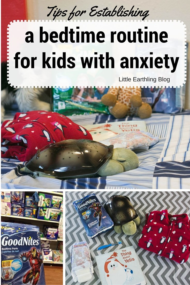 Bedtime  Routine for Children with Anxiety