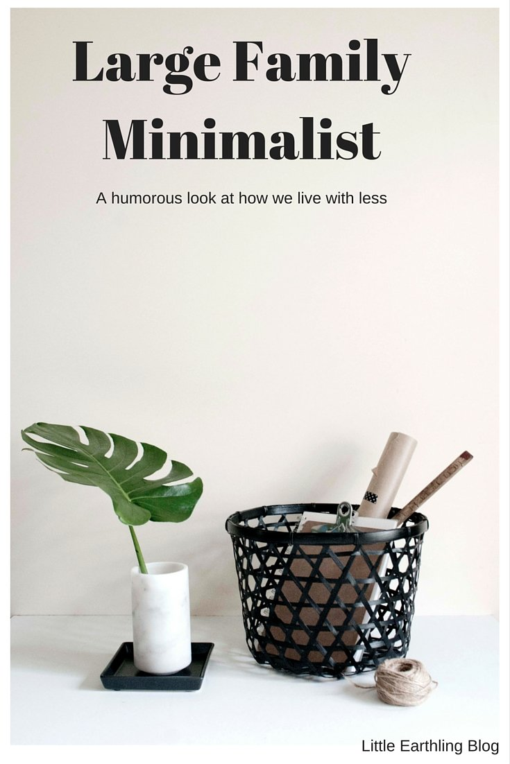 Large Family Minimalist: How We Live with Less
