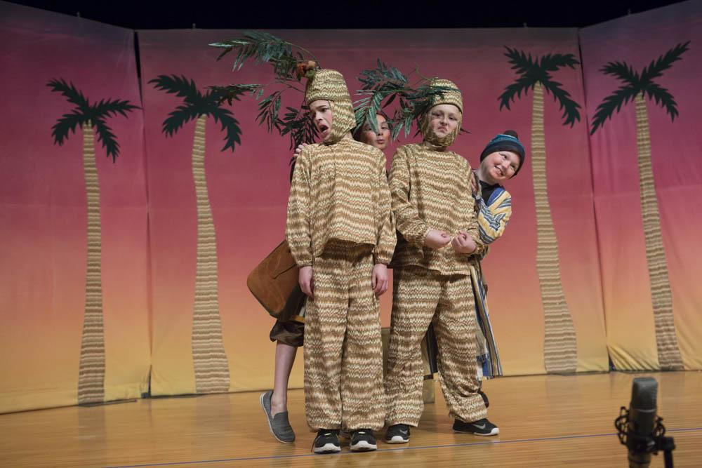 Missoula Children's Theater Aladdin, my kids love being part of this amazing program.
