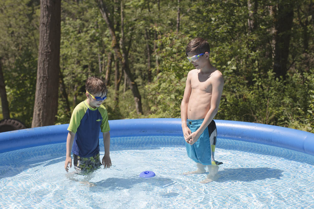 How to winterize your Intex pool (large family style).