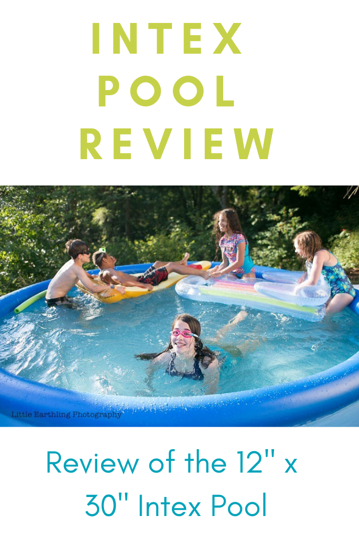 "Review of the Intex 12x30"" Pool"