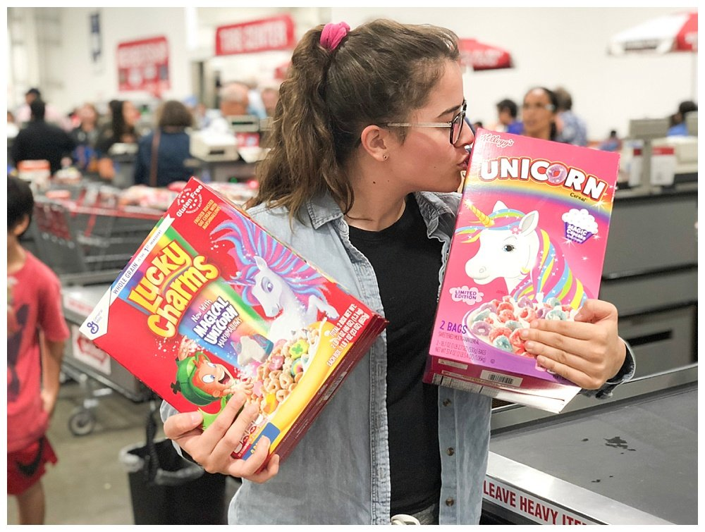 Jubilee expresses her true feelings about unicorn themed cereal.