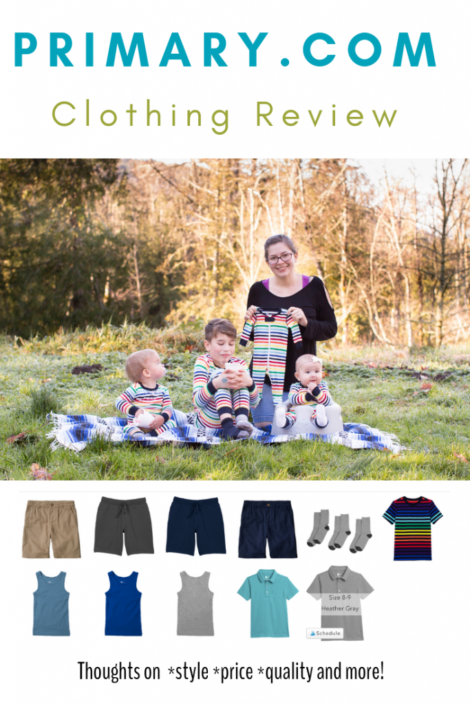 Honest Primary Clothing Review. Thoughts on style, price, and quality.