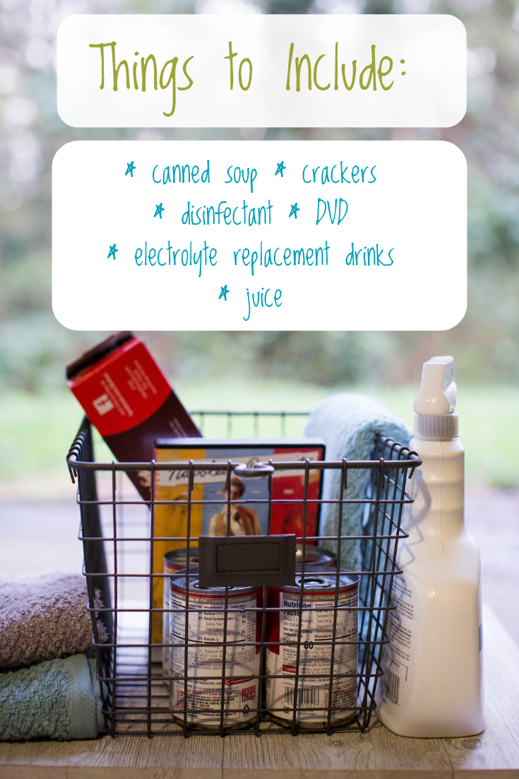 Create a Bundle Up and Get Well Basket This Winter