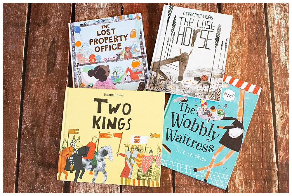 For great picture books to read this spring.