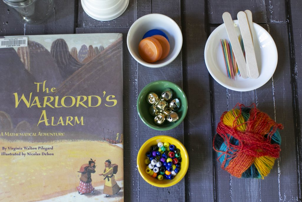 Learning with books is fun using The Warlord's Alarm.