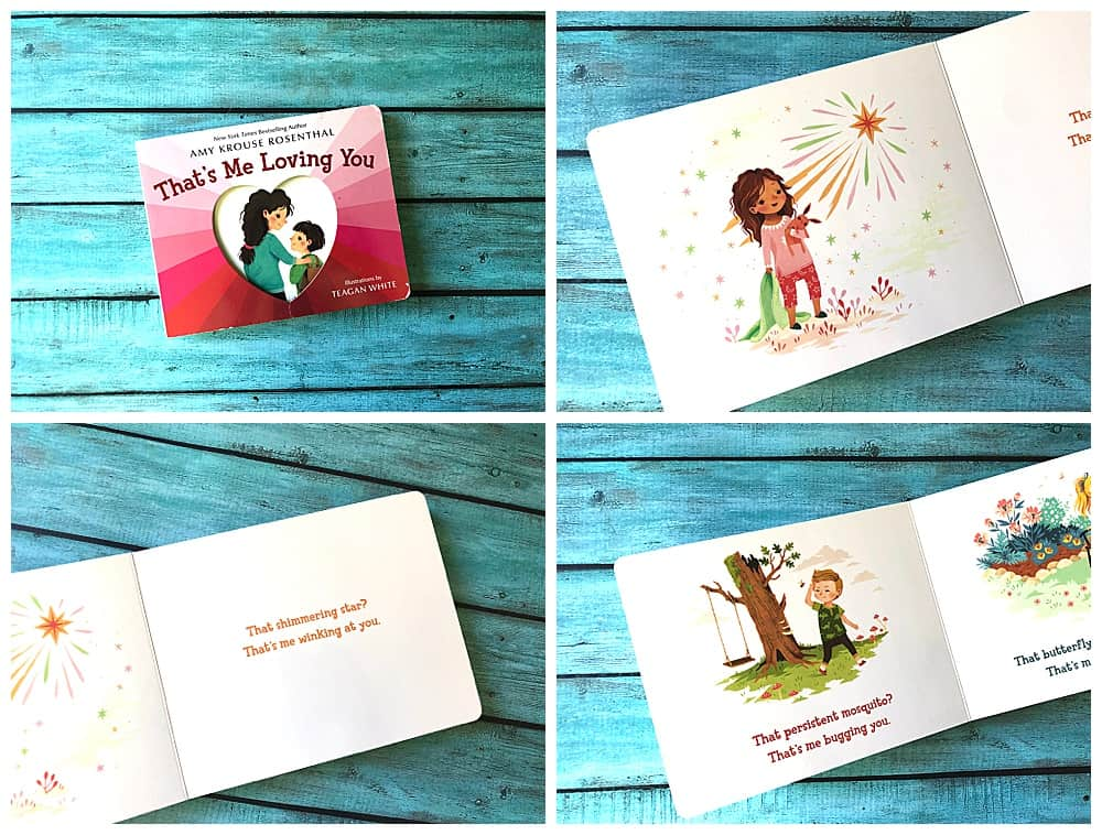 That's Me Loving You Review. Another great board book to grow your baby's love of reading.